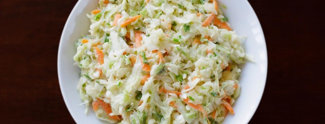 Low carb keto coleslaw