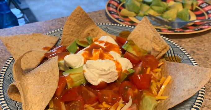 Low Carb Air Fryer Tortilla Chips