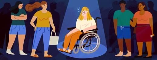 Rolling On With HS (Part 2): Dealing With Negativity Around Your Mobility Aids image